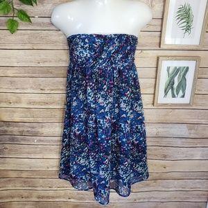 3/$20 Jacob Strapless Blue & Purple Dress Size XS